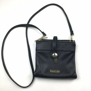 Kenneth Cole Reaction Black Mini Small Crossbody